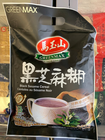 马玉山 黑芝麻糊 black sesame cereal 30g*12