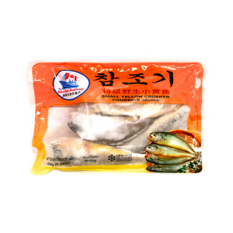 西贝海产 特级野生小黄鱼 WestBaySeafoods Small Yellow Croaker 300g