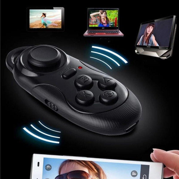 100% New Wireless Bluetooth Game Controller Joystick Gaming Gamepad for Android / iOS Moblie Smart Phone for iPhone for Samsung -  - 1