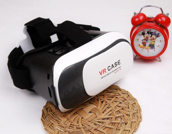 2016 Google cardboard VR BOX style VR CASE VR Head Mount Plastic Virtual Reality 3D Glasses For 3.5-6.0 inch Smartphone -  - 3