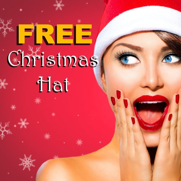 FREE Christmas Party Santa Hat - FitShopPro.com - 1