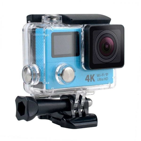 Procam R4 Remote Action Camera Ultra HD 4K - WIFI 12MP 2 in. Dual Screen + Multimode Remote Control - By Epiktec - FitShopPro.com - 3