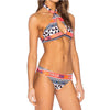 New X Cross High Neck Halter Bikini