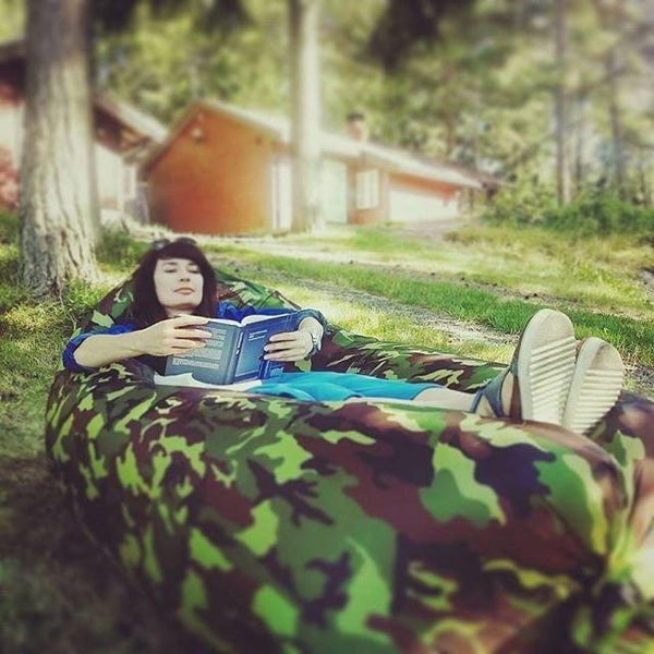 *** NEW TREND***  - Camouflage/ Army Camping Fast Inflatable Bed