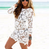 Flower Lace Beach Dress