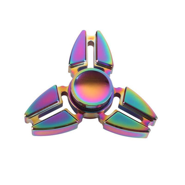 Multicolor Alloy Stress Reliever Spinning Toy