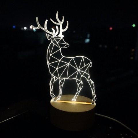 Deer Night Light Lamp