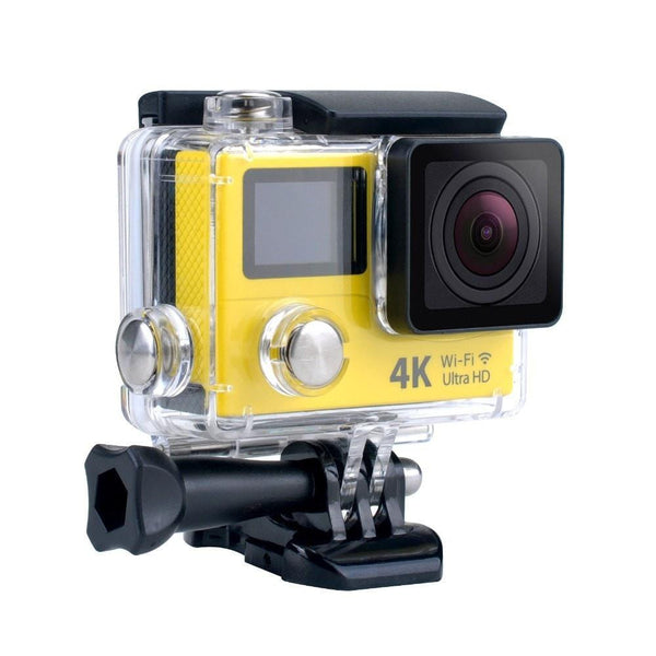 Procam R4 Remote Action Camera Ultra HD 4K - WIFI 12MP 2 in. Dual Screen + Multimode Remote Control - By Epiktec - FitShopPro.com - 1