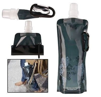 Flexible Foldable Reusable Water Bags with Hooks - FitShopPro