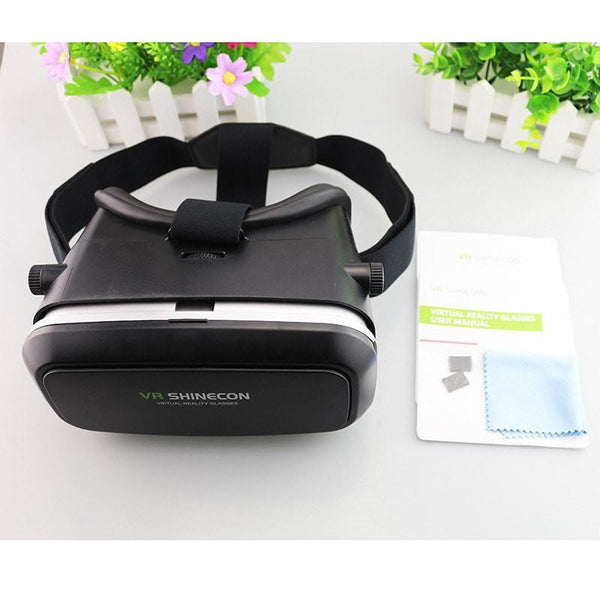 ShineconVR Virtual Reality 3D Glasses Google Cardboard Headset Oculus Rift Head Mount VR BOX 2.0 Movie For 3.5-6.0' Smartphone -  - 5