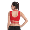 Horizontal Straps Yoga Crop Top