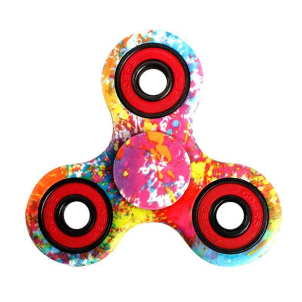 Printed Fidget Finger Spinner