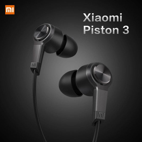 New High Quality Original Xiaomi Piston 3 Fashion Design In-Ear Headphones Earphone Headset For Smartphone -  - 1