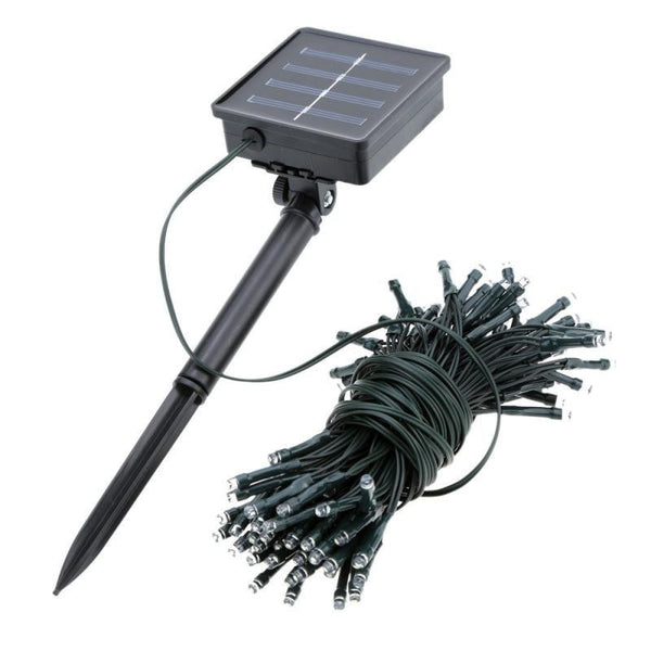 Solar Powered Light 10M 100Pcs LED Waterproof Christmas Decoration