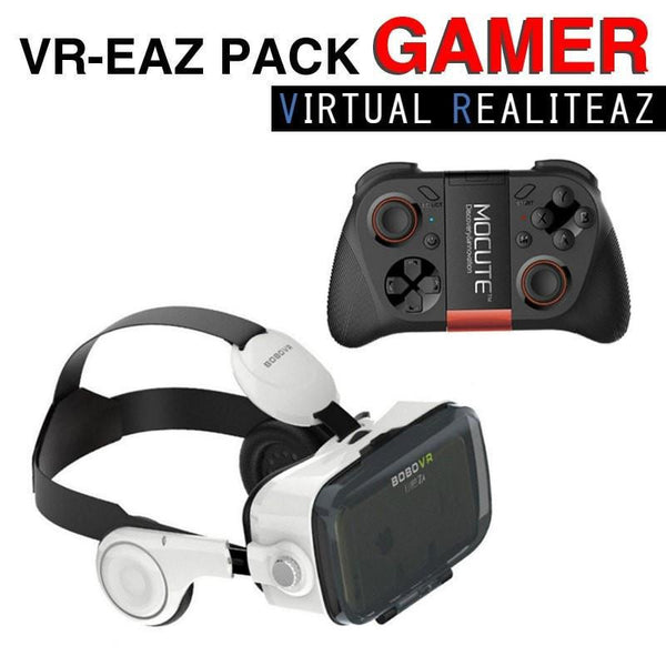 VR - EAZ PACK Gamer - Virtual Realiteaz - 1