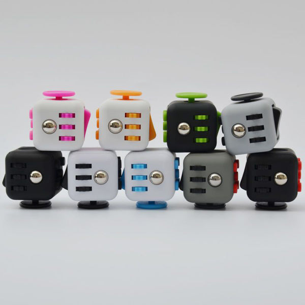FREE All Black Stress Relieve Fidget Cube
