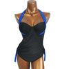 Caroline - Bandage Push Up Tankini Swimsuit