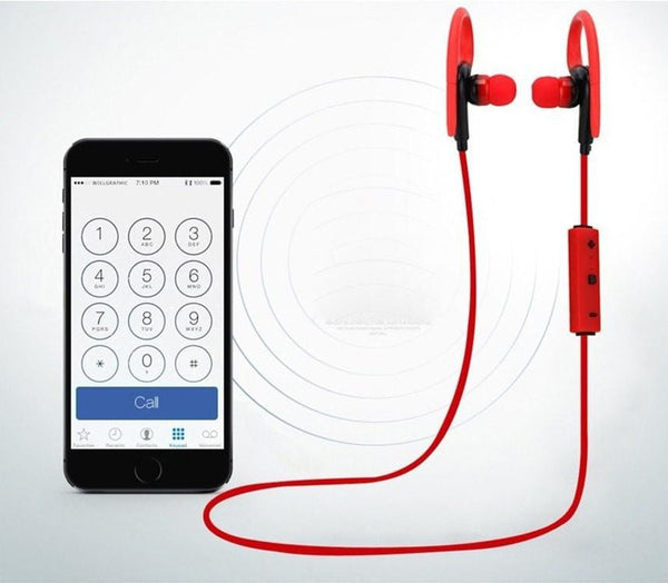 Wireless  In-Ear with hook Earphones With Microphone - FitShopPro.com - 6
