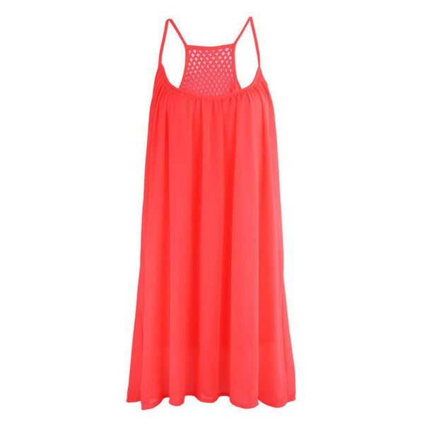 Fluorescence Beach Summer Dress