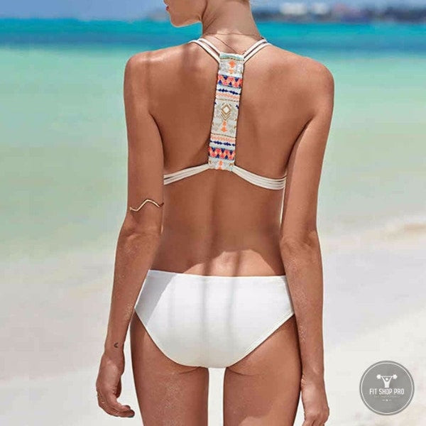 Sexy Backless Halter Monokini Swimsuit - FitShopPro