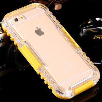 Waterproof Heavy Duty Hybrid Swimming Dive Case For Apple iPhone 6 / 6S 4.7inch -  Water/Dirt/Shock Proof - FitShopPro