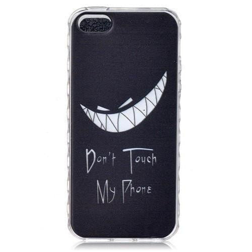 FREE * iPhone Case* SE Case Silicone Graphic Transparent Ultra-Thin Back Cover - FitShopPro.com - 24