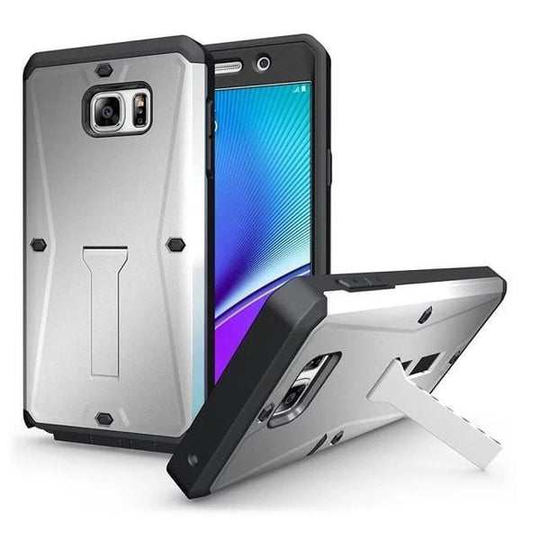 * Samsung Case * Note 5 Shock Proof Life Waterproof Stand Armor Back Cover