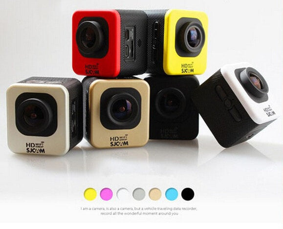 3. ProCam Cube 1080P Full HD Extreme Sport Action Camera - 12 MP - 1.5 Inch Screen - 170 Degree Lens - FitShopPro
