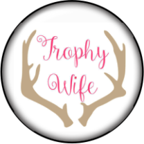 Trophy Wife Grace Glass Snap Charm