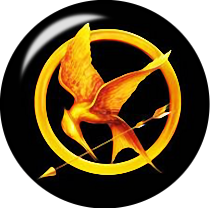Mocking Jay Glass Snap Charm
