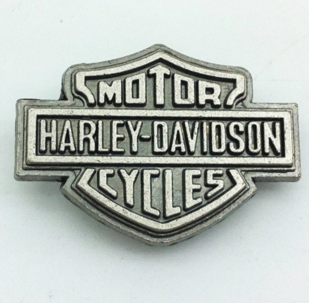 Harley Pewter Metal Snap Charm
