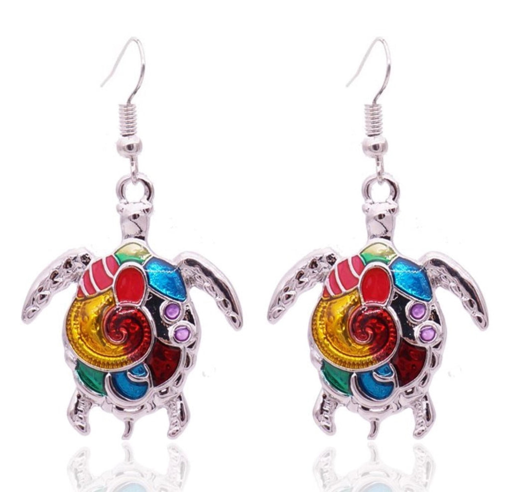 Turtle Bright Earrings