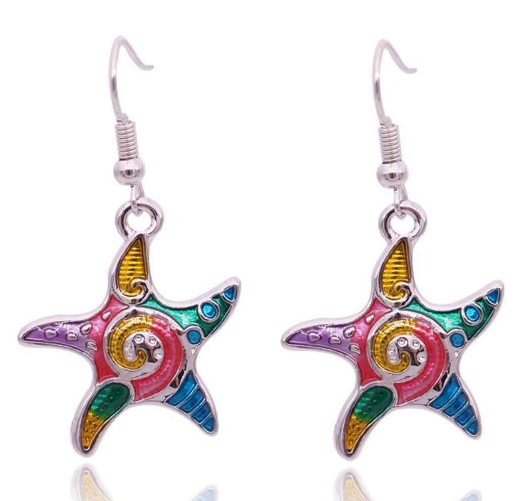 Starfish Bright Earrings
