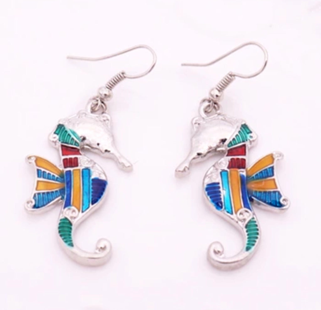 Seahorse Bright Earrings