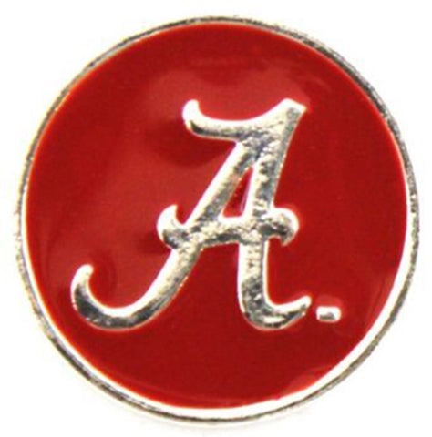 Alabama Red Metal Snap Charm