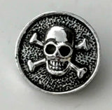 Pirate's Life Silver Snap Charm