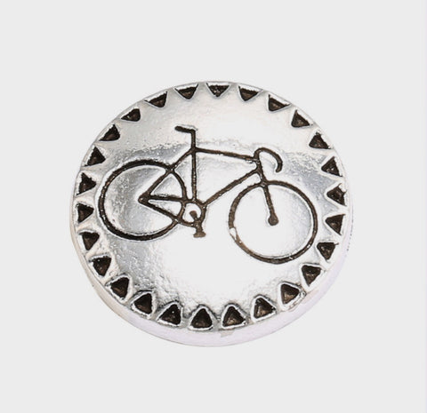 Bicycle Fun Snap Charm