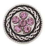 Bling Pink Snap Charm