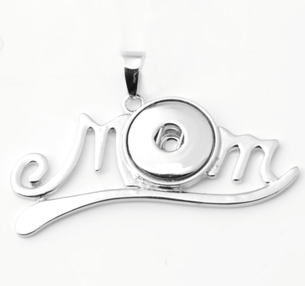 Mom Snap Charm Pendant