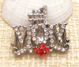 Bejeweled #1 Mom Snap Charm