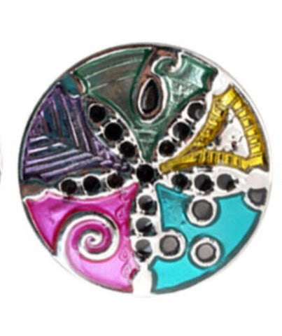 Sand Dollar Spectrum of Color Snap Charm