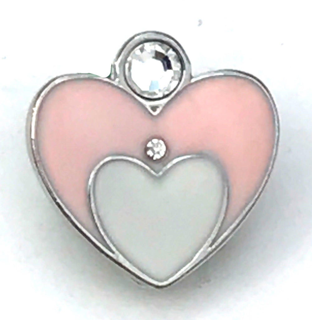 Hearts in Hearts Snap Charm