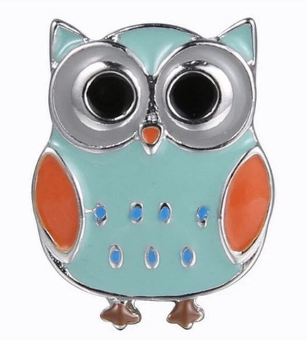 Happy Owl Snap Charm
