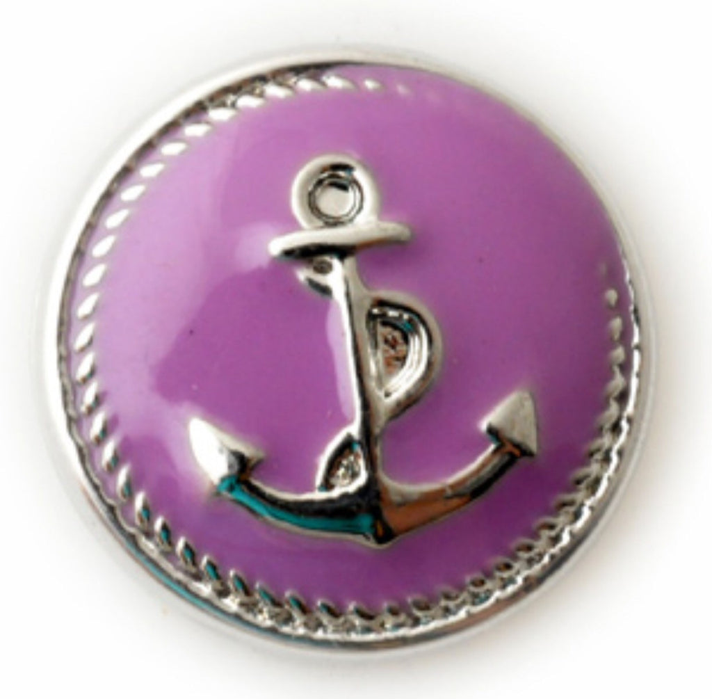 Anchor Snap Charm Grape