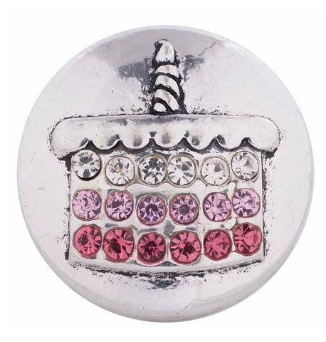 jeweled Birthday Snap Charm