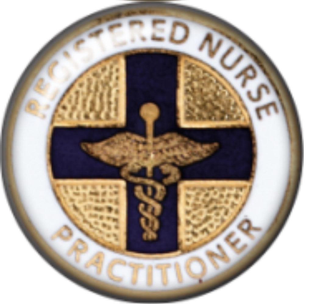 Nurse Practitioner Glass Snap Charm