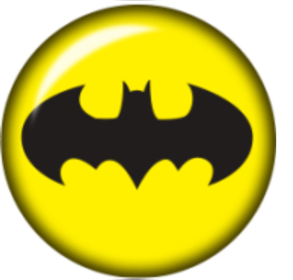 Sometimes You Just Want to be Batman Glass Snap Charm