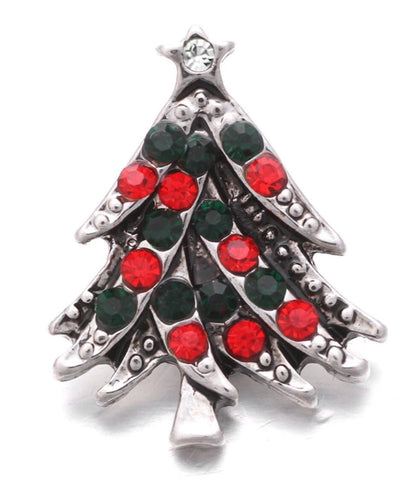 Christmas Tree Snap Charm