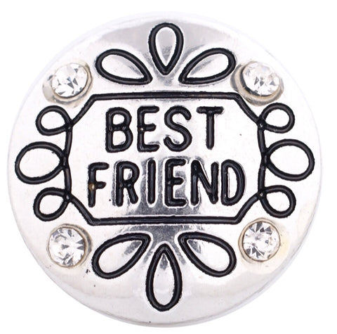 Best Friend Snap Charm