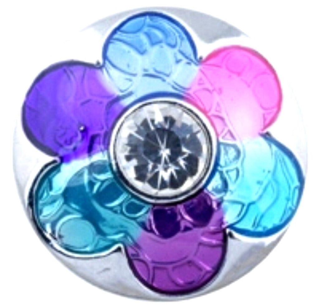 Petals of fun Multi Snap Charm